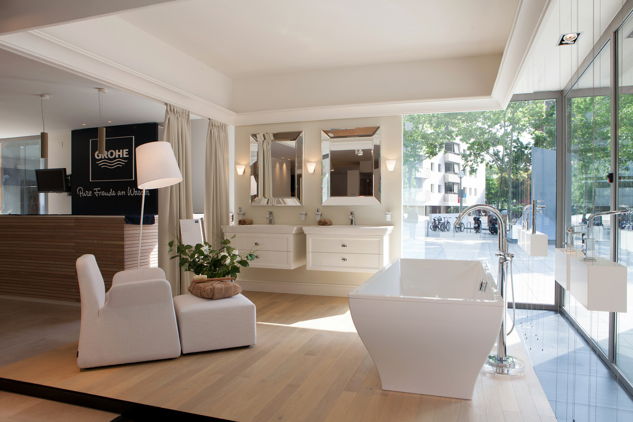Il nuovo grohe live center a barcellona area for Showroom grohe barcelona