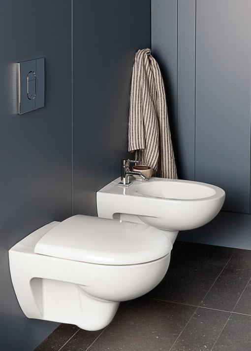 La tecnologia Rimfree è un'innovazione per l'igiene, per ora presente in 3 collezioni Pozzi-Ginori: Mago, Fast e Metrica.