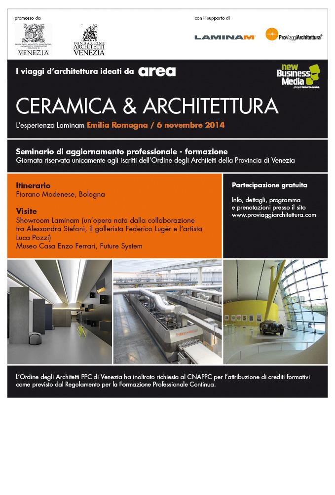 Viaggi d'Architettura – Ceramica & Architettura