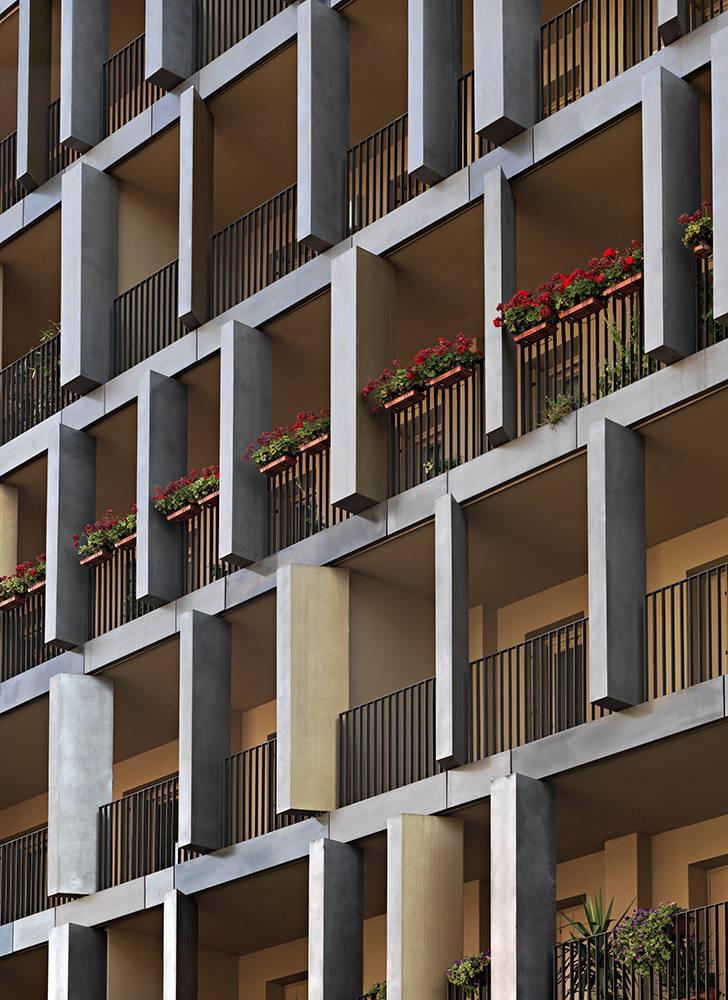 Dwelling in via maestri campionesi area for Design abitazioni