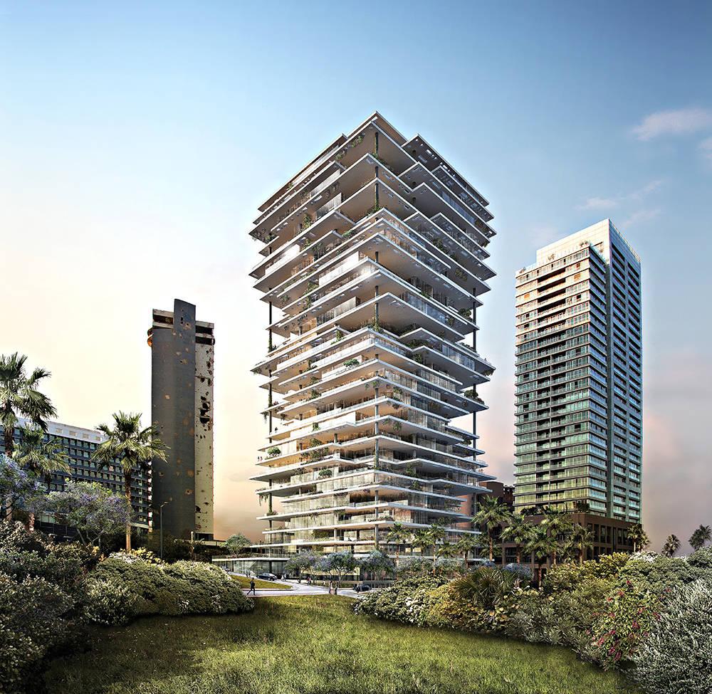 Beirut Terraces Area