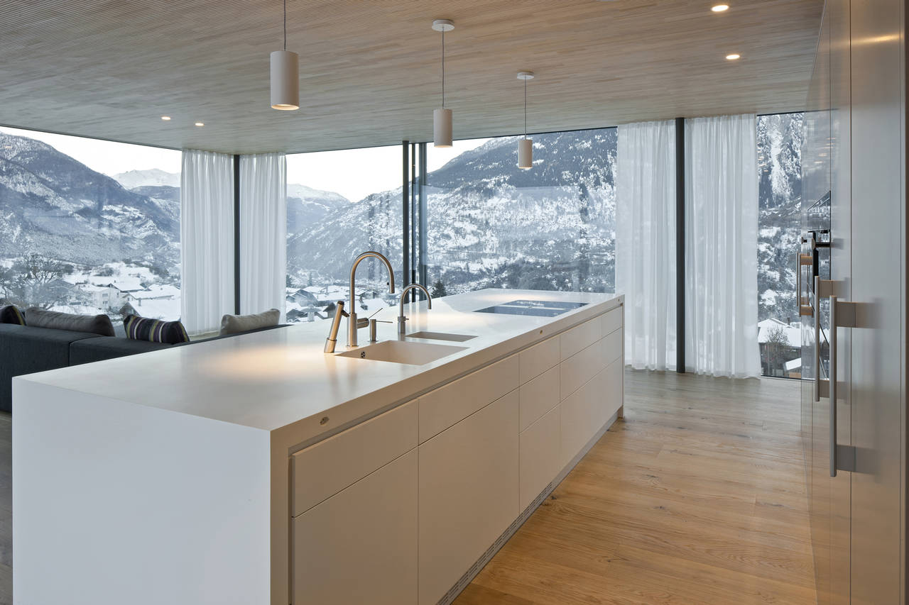 Villa unifamiliare a Termen (Svizzera)