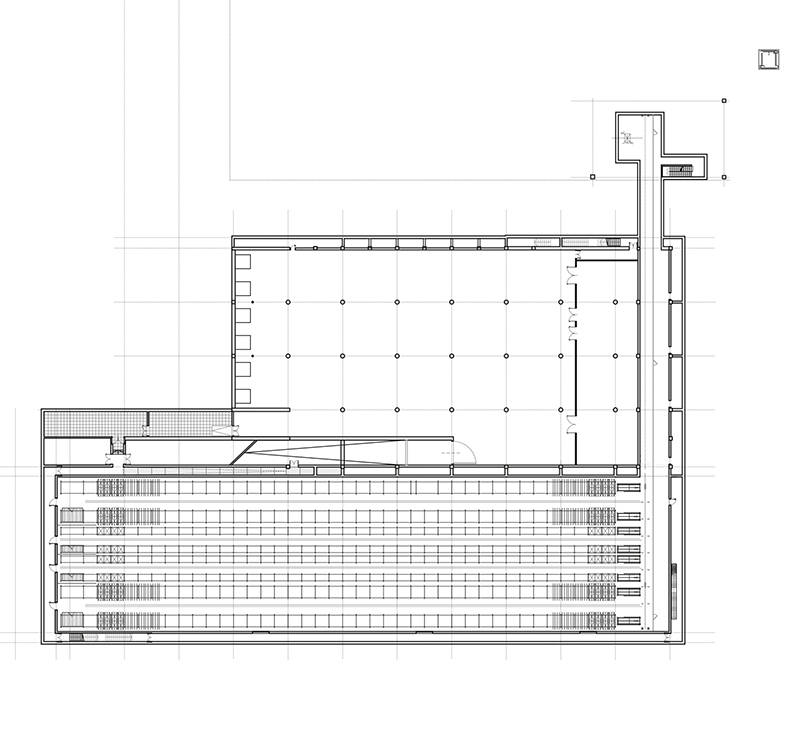 Perfetti van melle factory area for Peter behrens aeg turbine factory