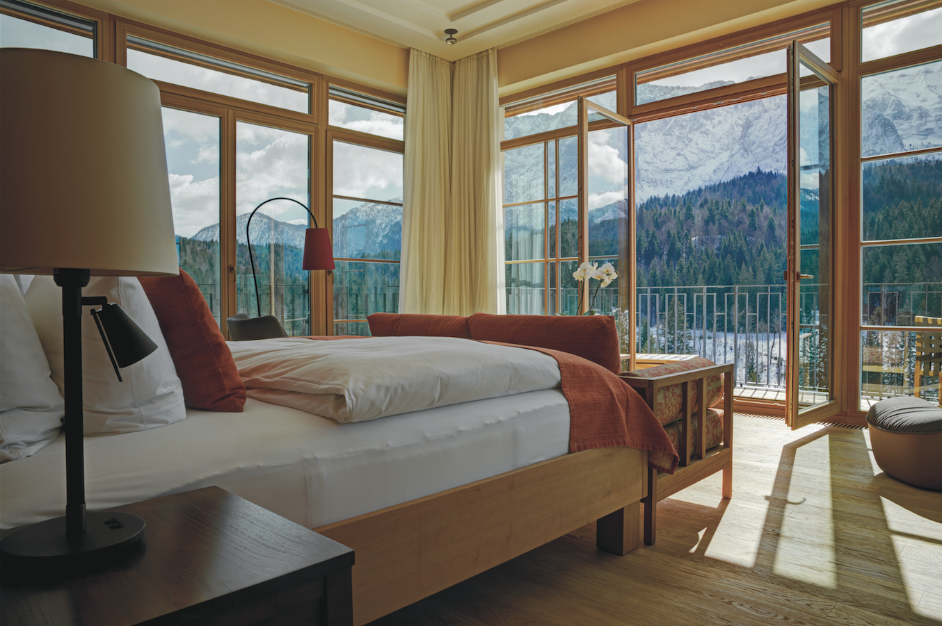 kaldewei per l hotel schloss elmau retreat in germania area. Black Bedroom Furniture Sets. Home Design Ideas