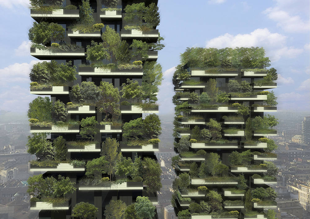 Bosco verticale area