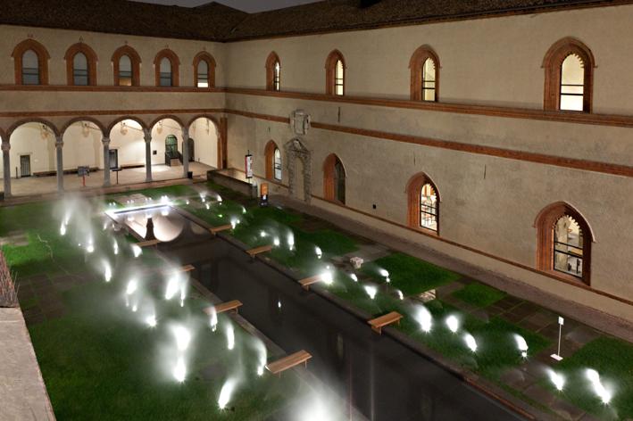 Lea Ceramiche per l'installazione di Antonio Citterio e Patricia Viel a Milano