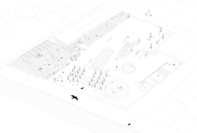 centre national des arts du cirque area. Black Bedroom Furniture Sets. Home Design Ideas