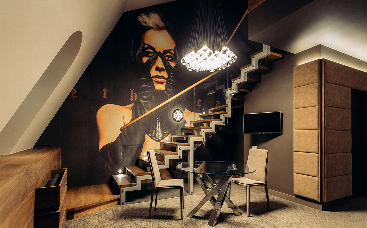 Inkiostro bianco per uno design hotel odessa area for Design hotels 2015