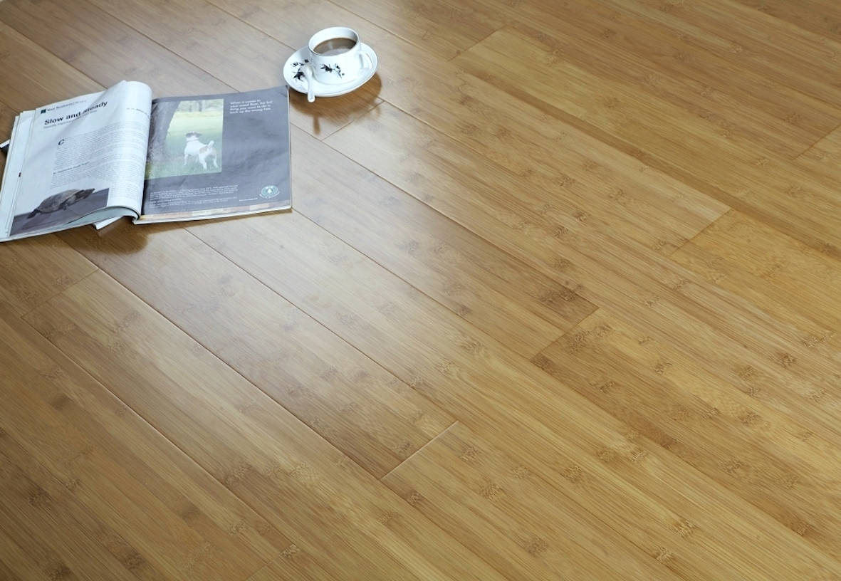 Parquet in bamboo by pavibamboo area