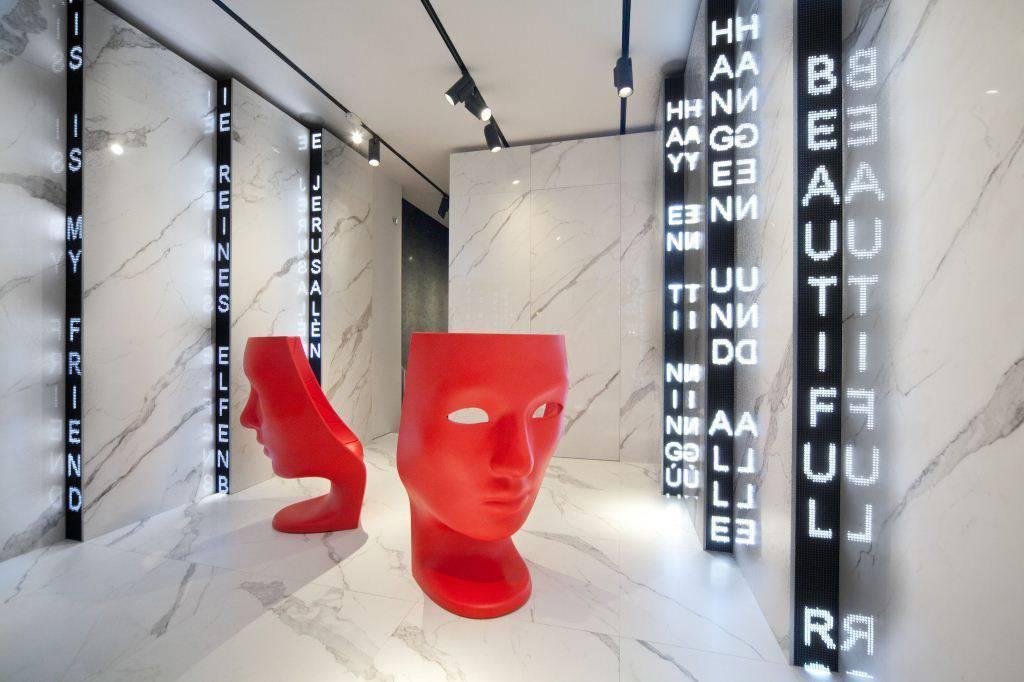 Fabio Novembre per lo showroom di Lea Ceramiche a Milano