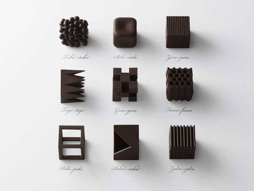 Chocolatexture by Nendo