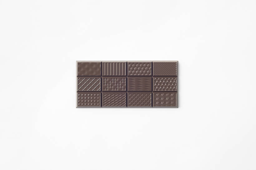 Chocolatexturebar by Nendo