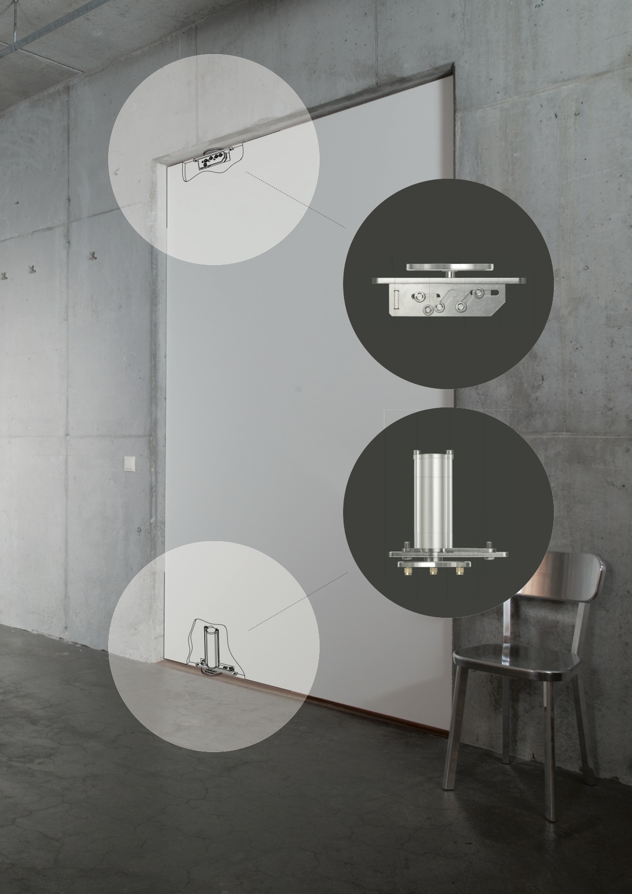 FritsJurgens 4 All porte a bilico per tutti gli ambienti