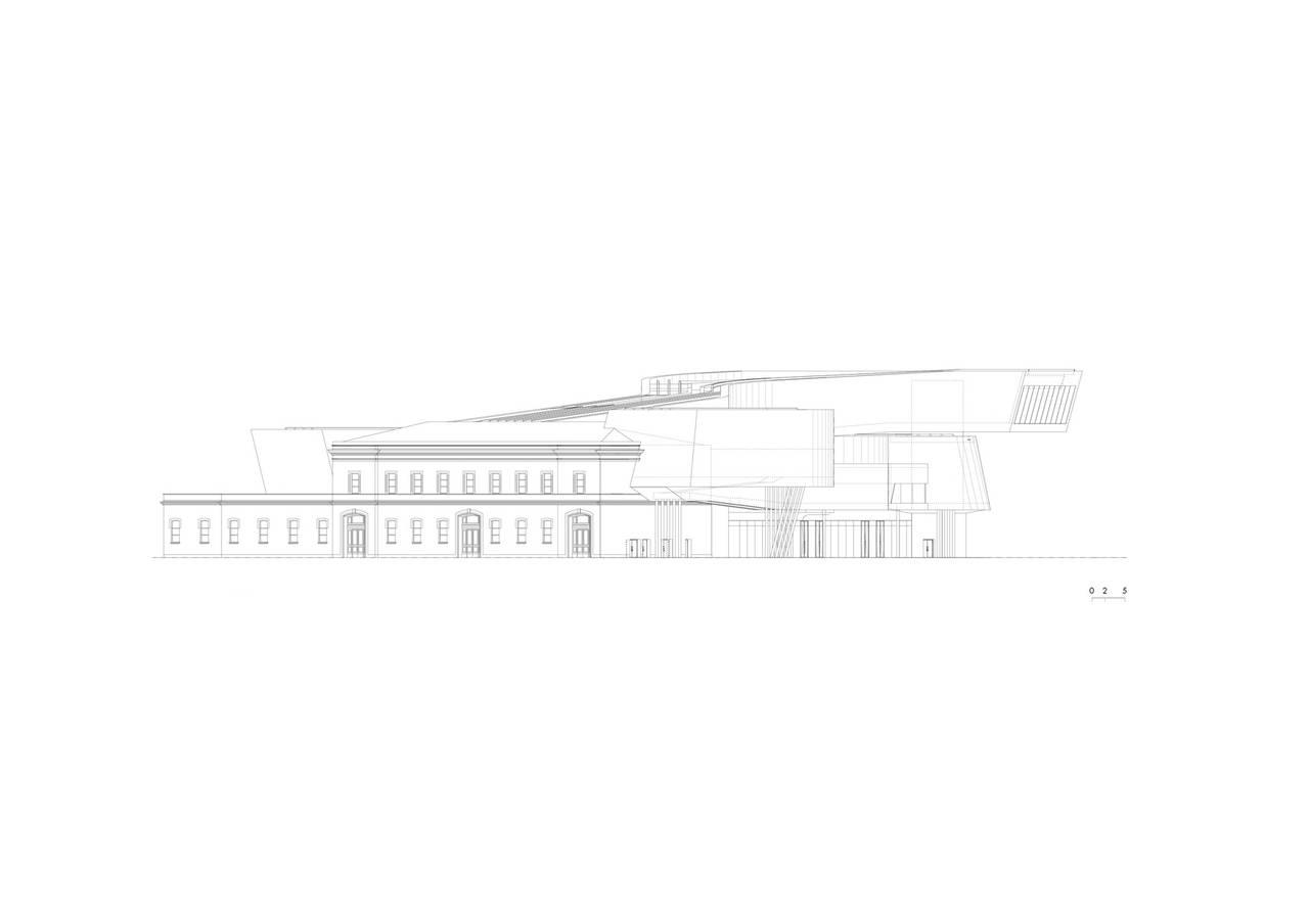 Vitra Fire Station Floor Plan Maxxi Museo Delle Arti Del Xxi Secolo Area