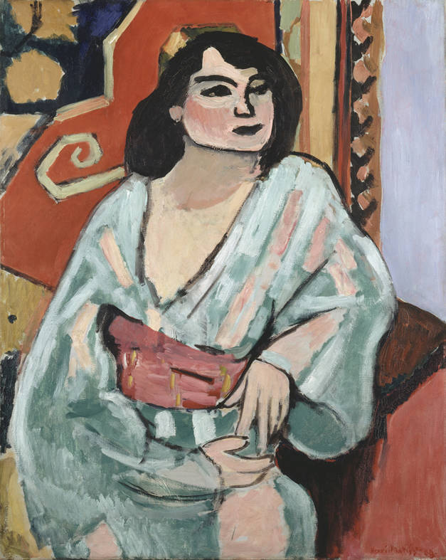 Henri Matisse L'algerina 1909 Olio su tela, 81x65 cm Collection Centre Pompidou, Paris Musée national d'art moderne - Centre de création industrielle Photo : © Centre Pompidou, MNAMCCI/ Philippe Migeat/Dist. RMN-GP © Succession H. Matisse by SIAE 2015