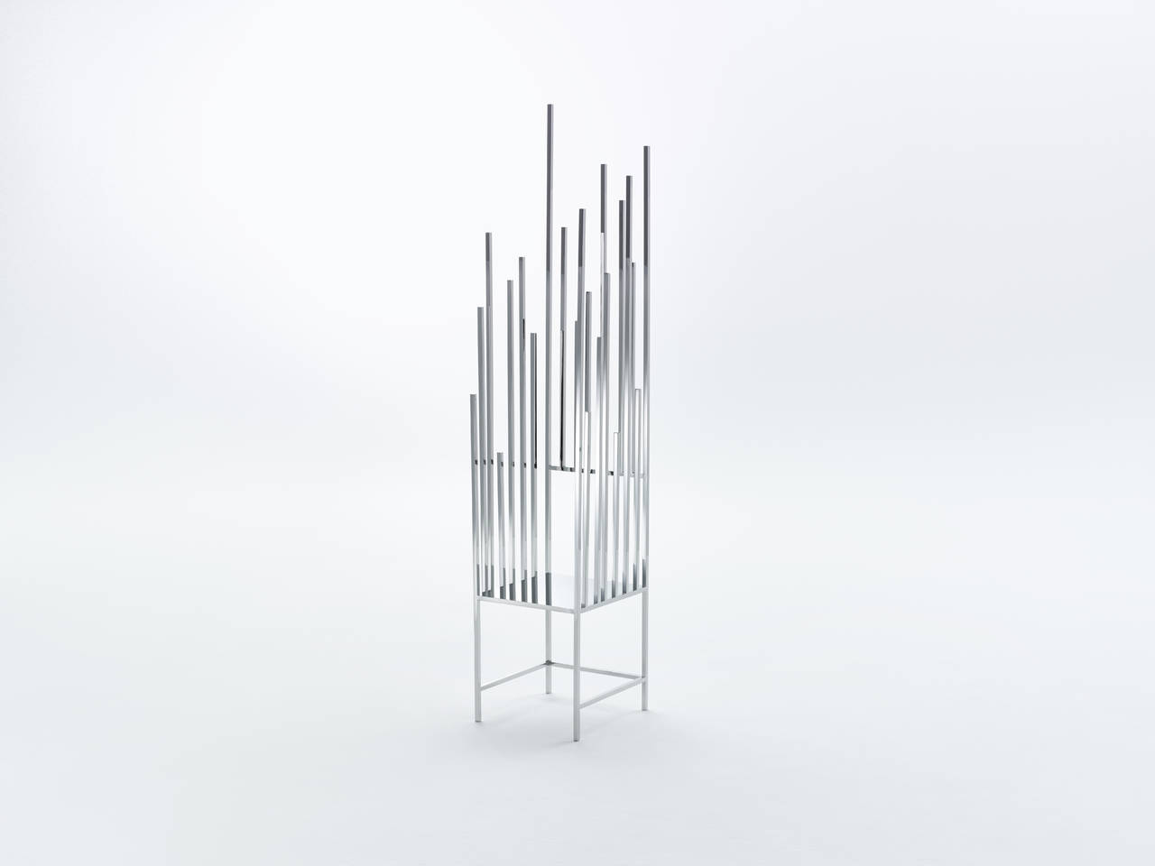 50 Manga Chairs by Nendo (Photo by Kenichi Sonehara)