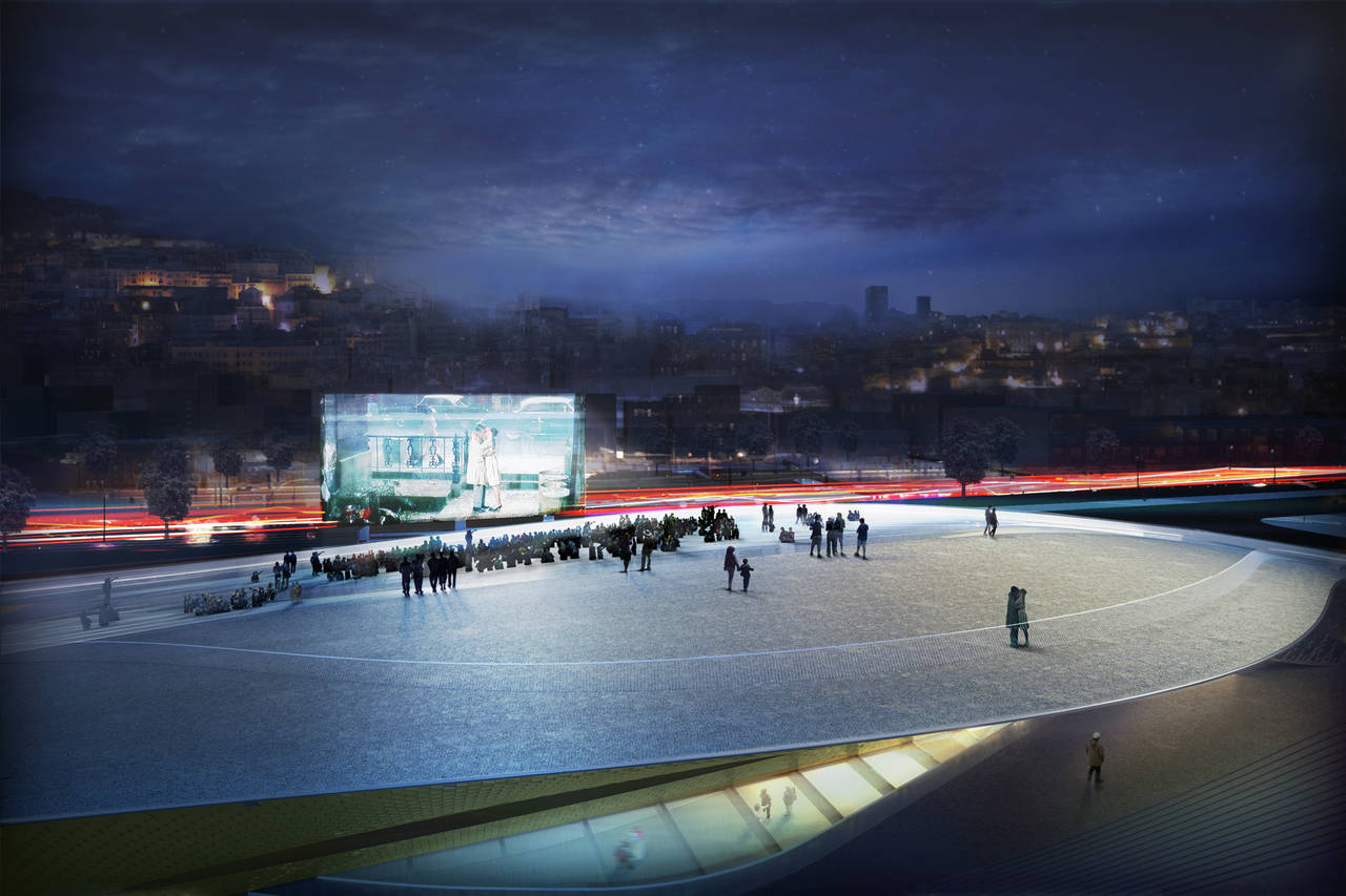 cinema on the roof - image by AL_A