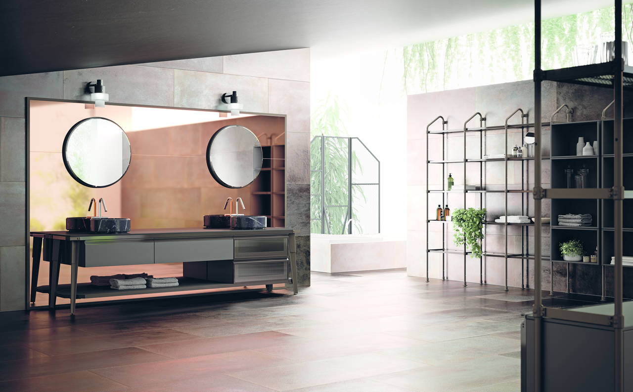 Diesel Open Workshop Bathroom by Scavolini e Diesel