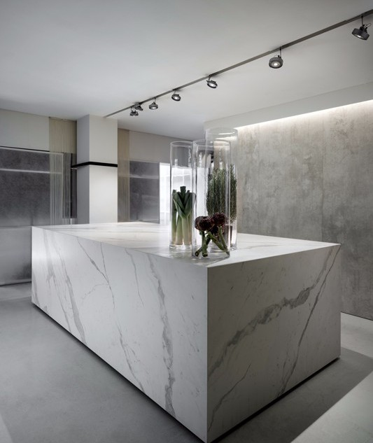 Laminam il grande formato orizzontale area - Piano cucina kerlite ...