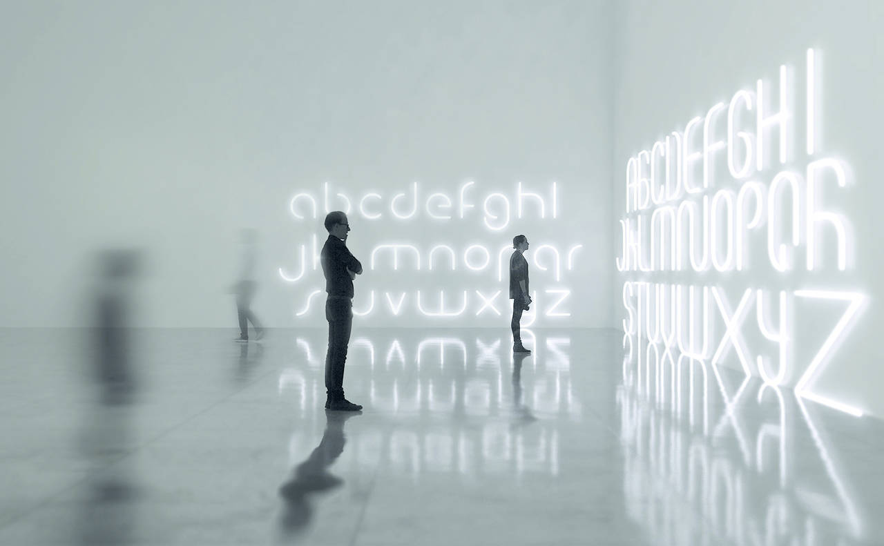 Alphabet of Light by Artemide