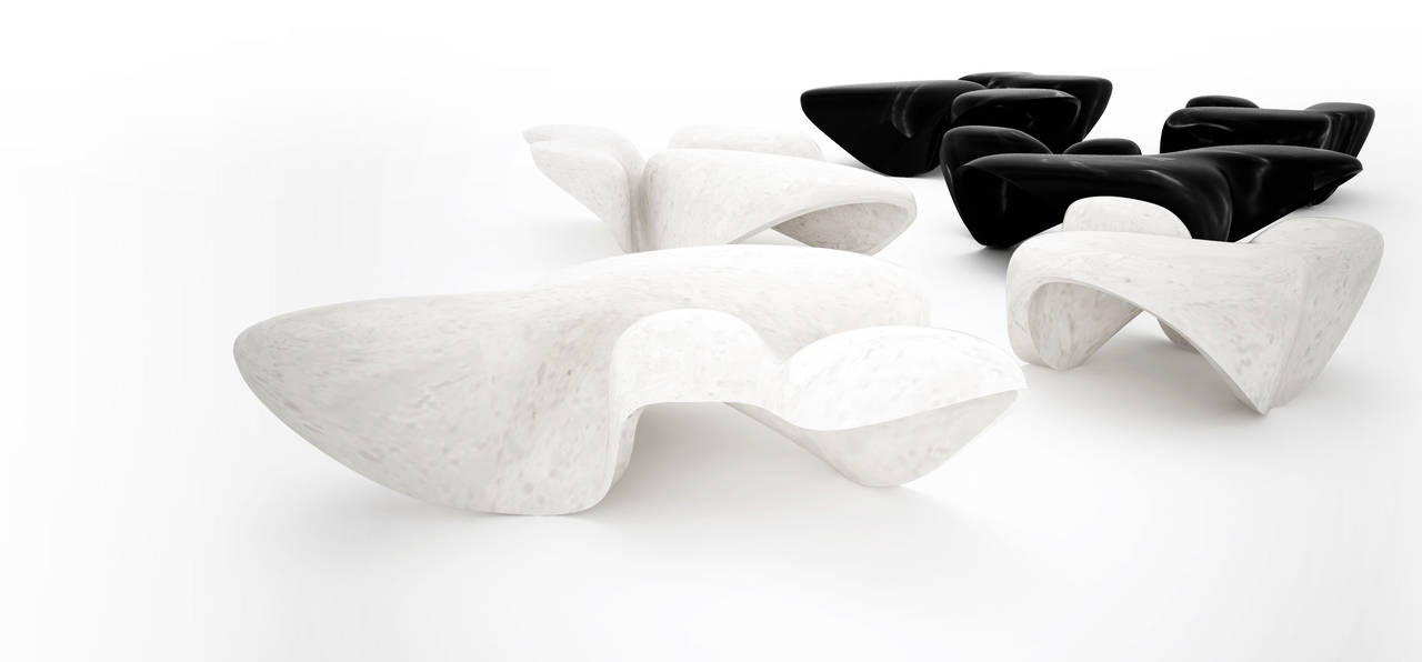 Mercuric Tables by Citco per il Design Museum di Londra