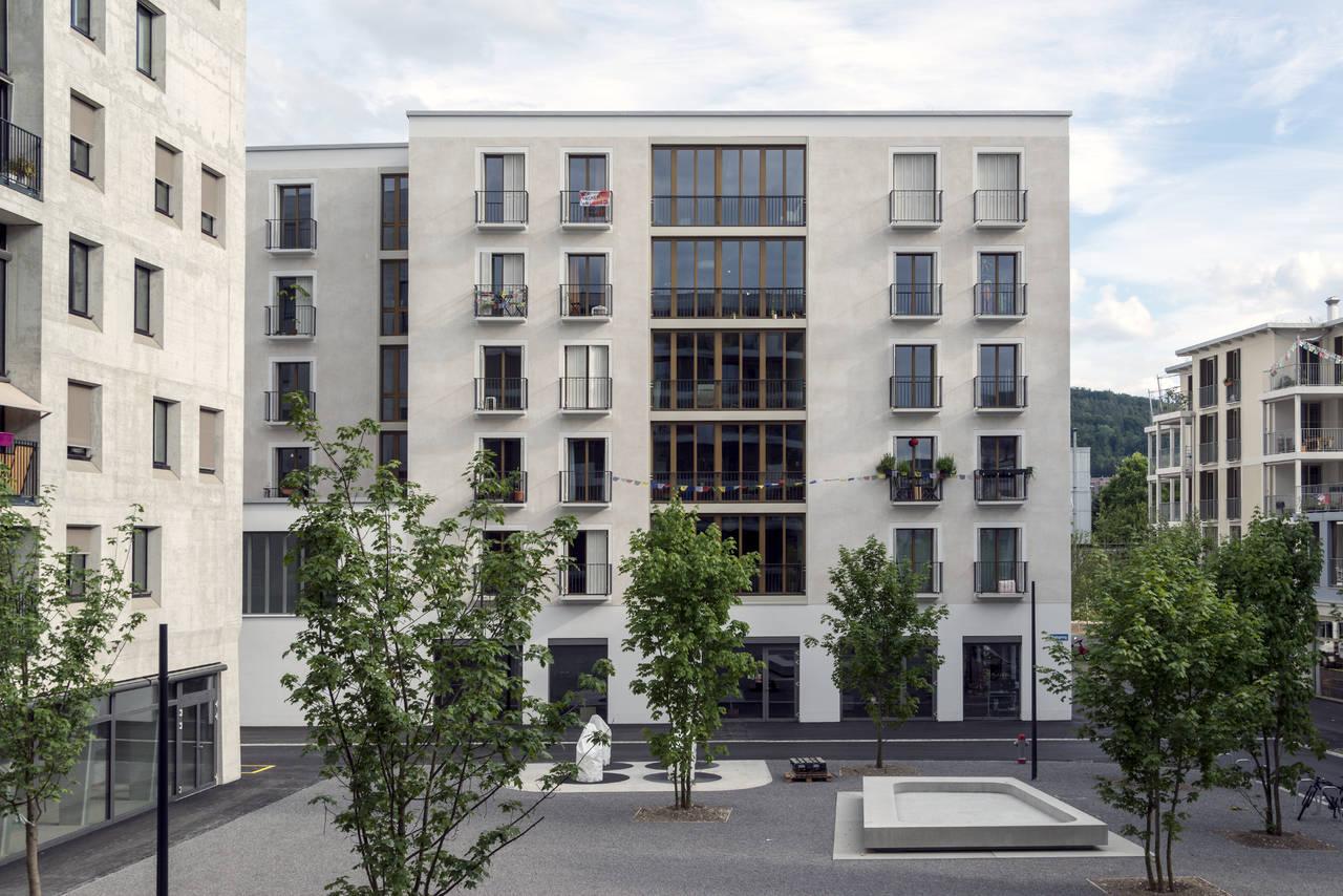 Cluster House a Zurigo, progetto degli architetti svizzeri Duplex, vincitore del Premio Speciale. Photo by Johannes Marburg©