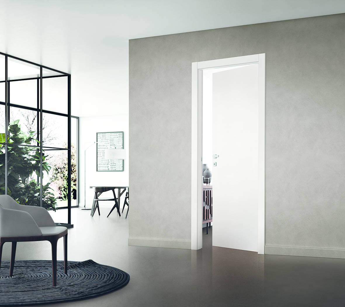 Comfort Prima battente bianco venato by Scrigno