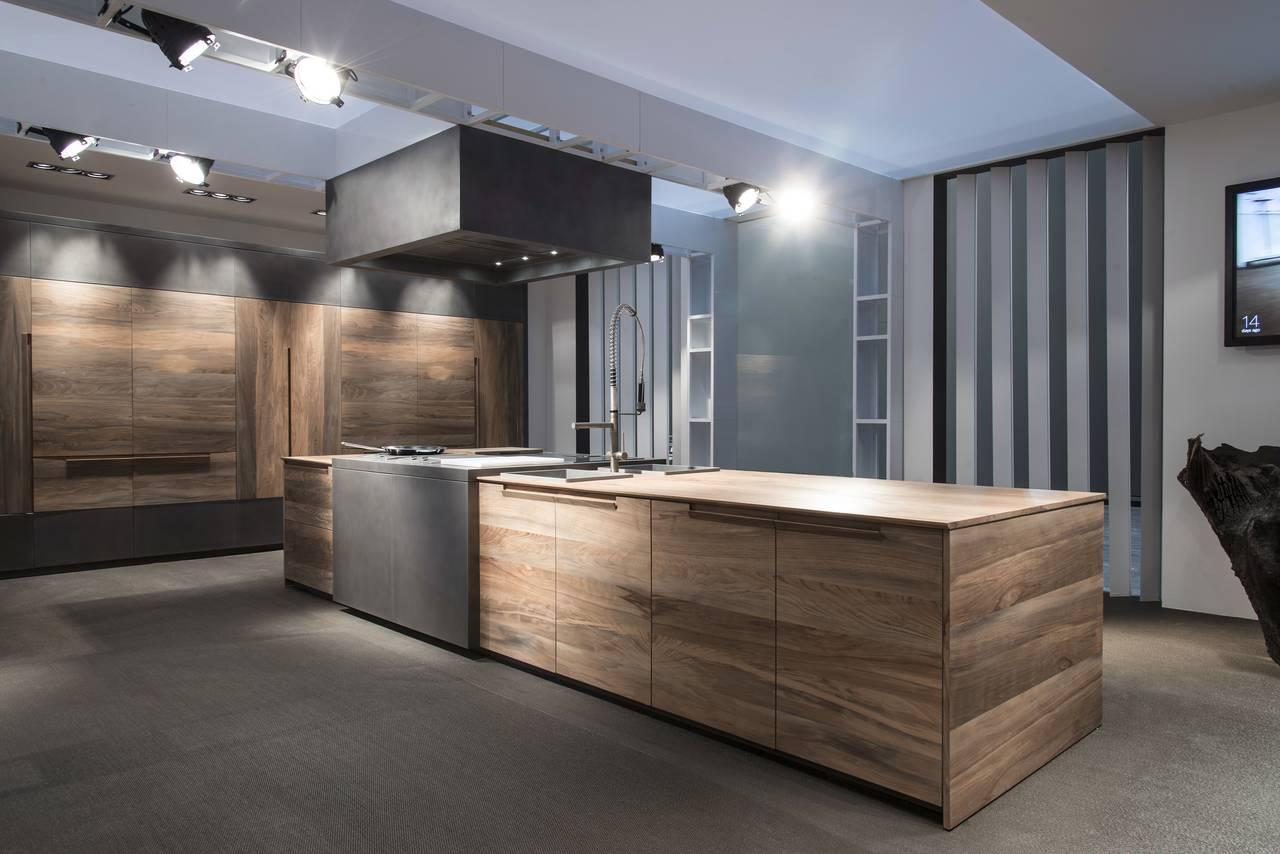 Una cucina in legno fossile: Essence by Toncelli | Area