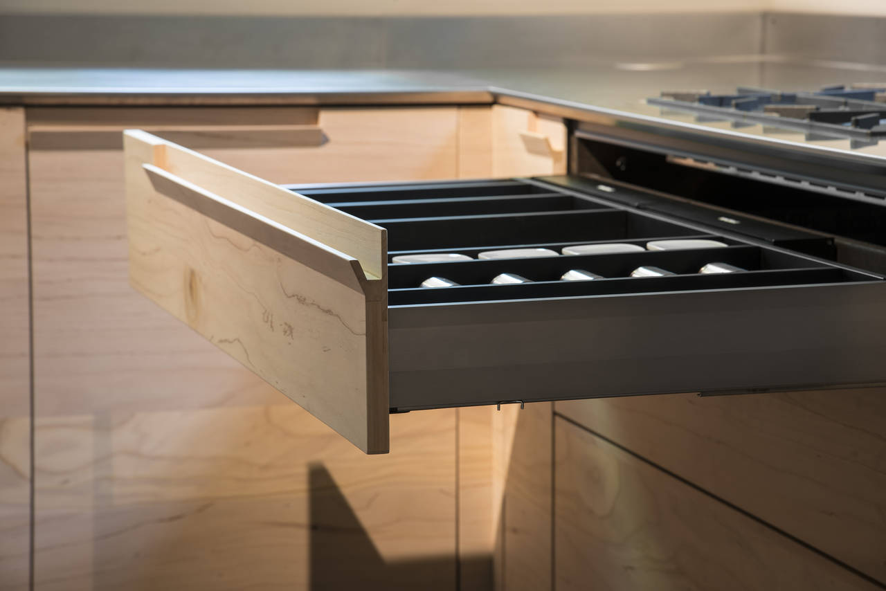 Una cucina in legno fossile: Essence by Toncelli   Area