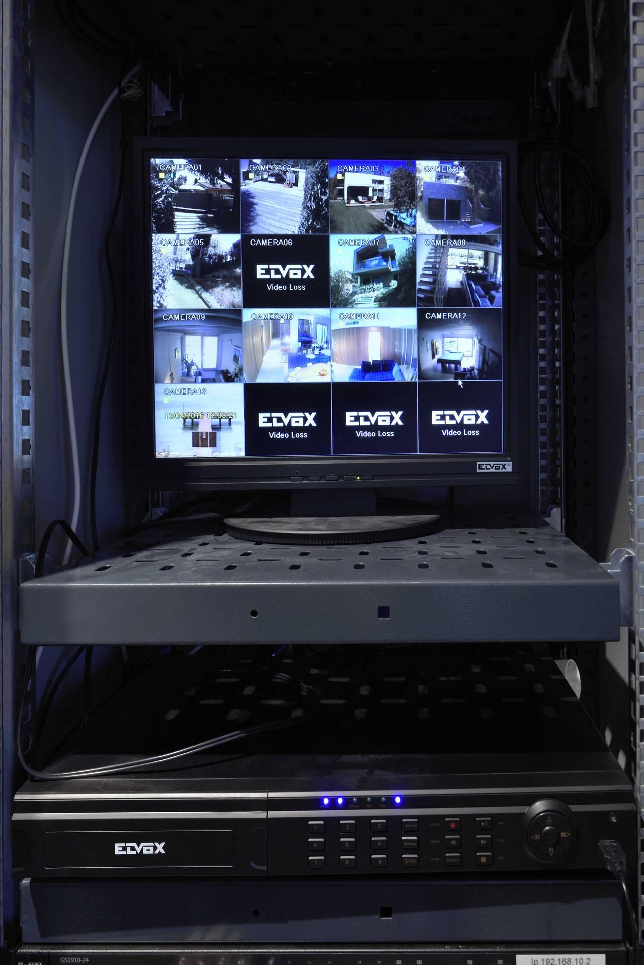 Sistema di videosorveglianza Elvox