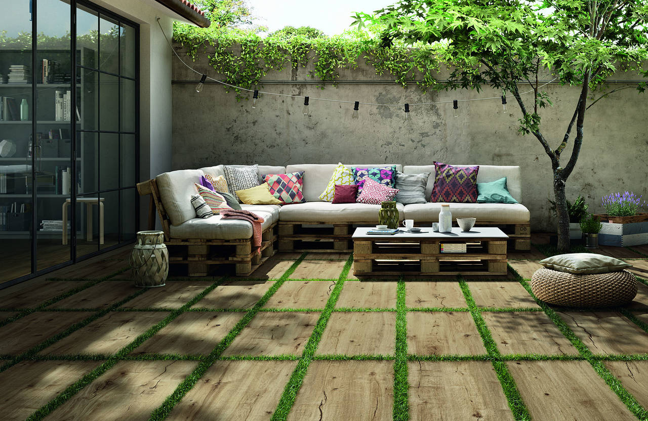 il legno usurato di woodtale by ragno. Black Bedroom Furniture Sets. Home Design Ideas