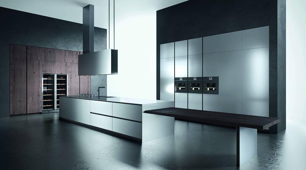 Elegante acciaio inox per Ak04 by Arrital | Area