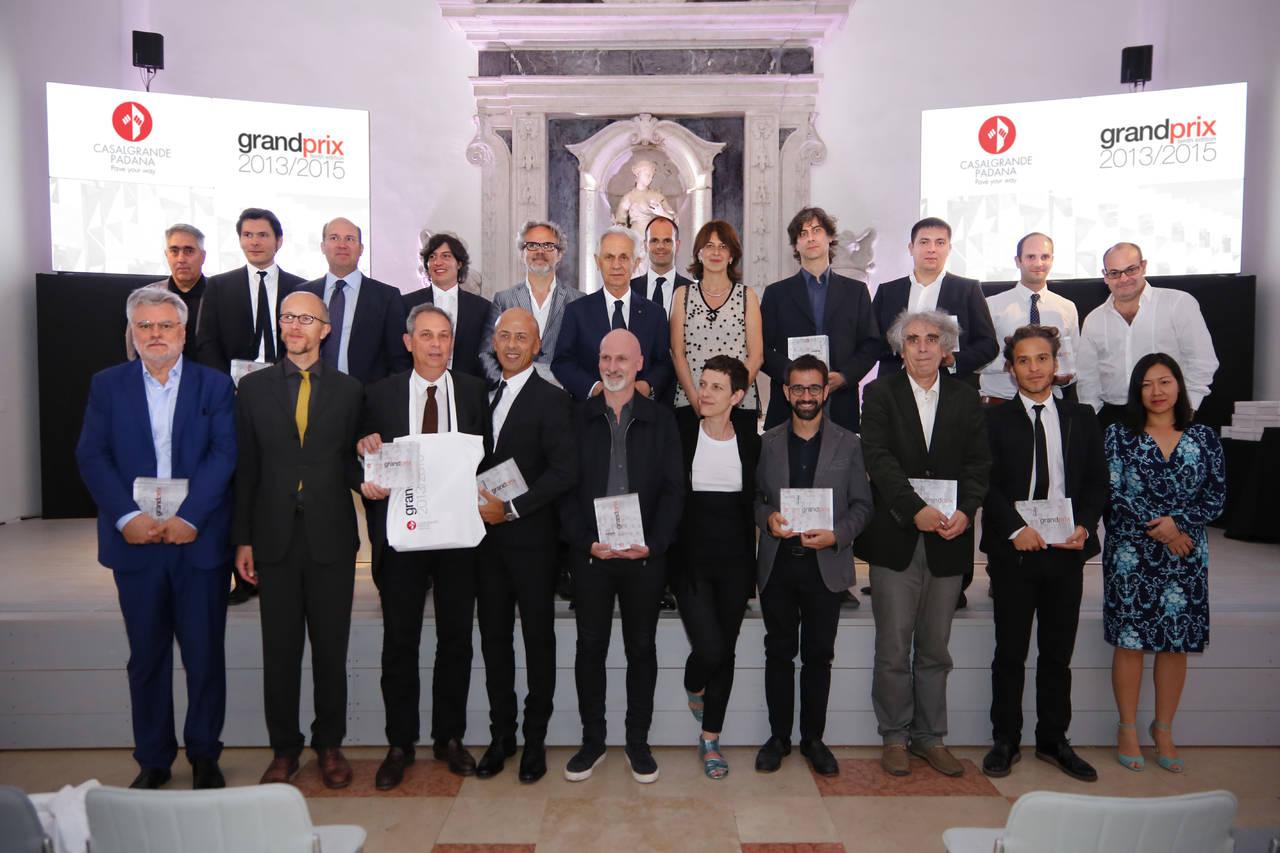 Premiati a Venezia i vincitori del Grand Prix 2013-2015