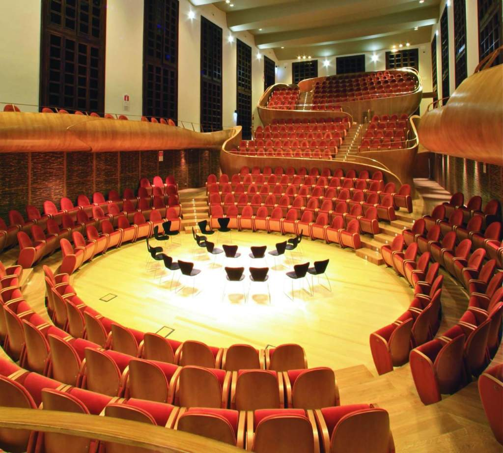 Auditorium Giovanni Arvedi, Giorgio Palù, Michele Bianchi, Fondazione Giovanni Arvedi e Luciana Buschini