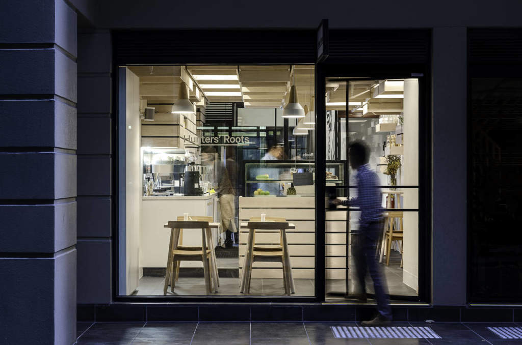 Ahec per l'Hunters Root Café e il Juice Bar a Melbourne