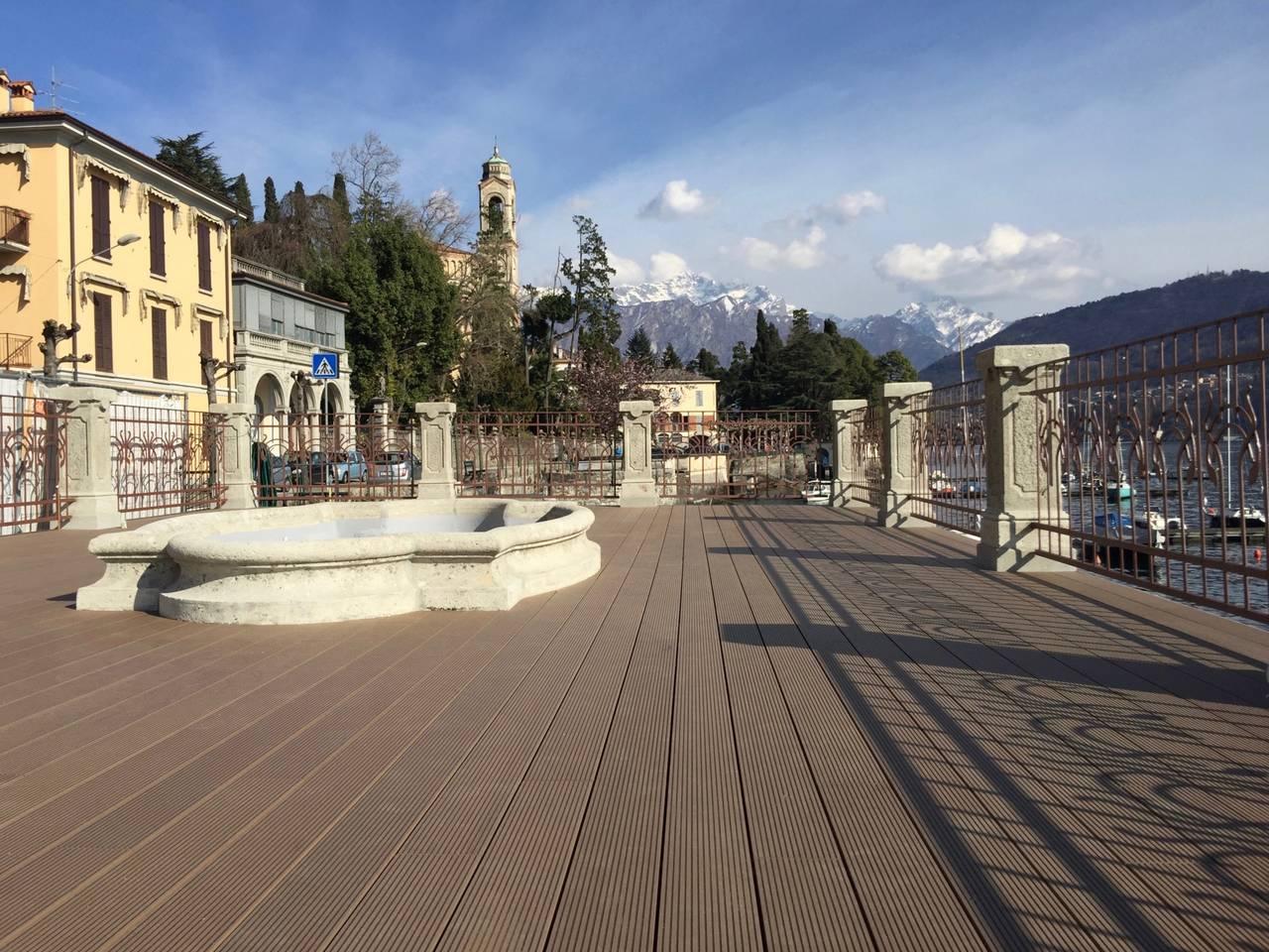Déco per la Villa Marie a Como