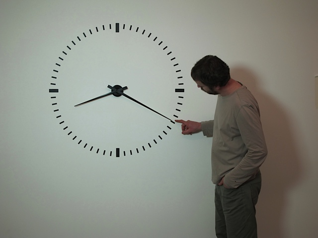 Ivano Moudov, Performing Time, 2012, video, 24h. Courtesy AGIVERONA Collection, Prometeo Gallery, Milano
