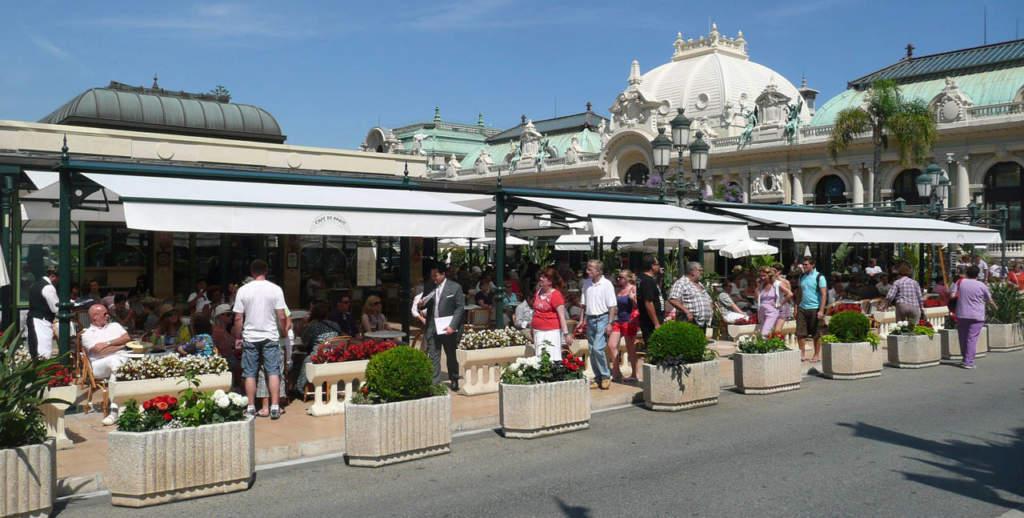 KE Protezioni Solari per il café de Paris, Place du Casino - Montecarlo