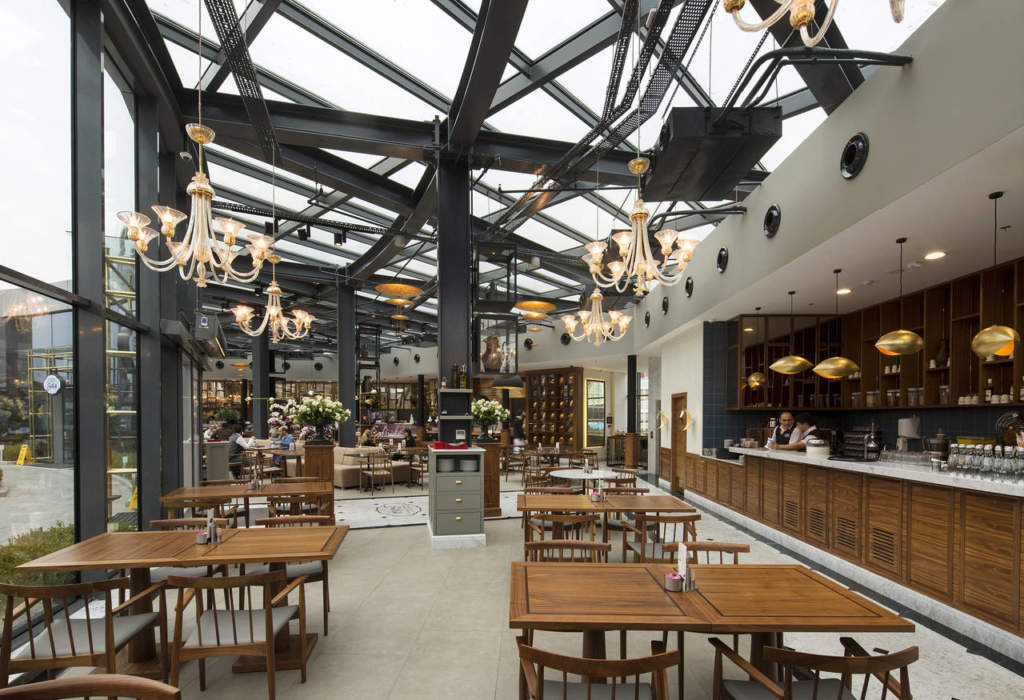 Catellani & Smith per il ristorante Emirgan Sutis a Istanbul