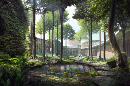 Kengo Kuma wins the competition for H.C. Andersen's House of Fairy Tales