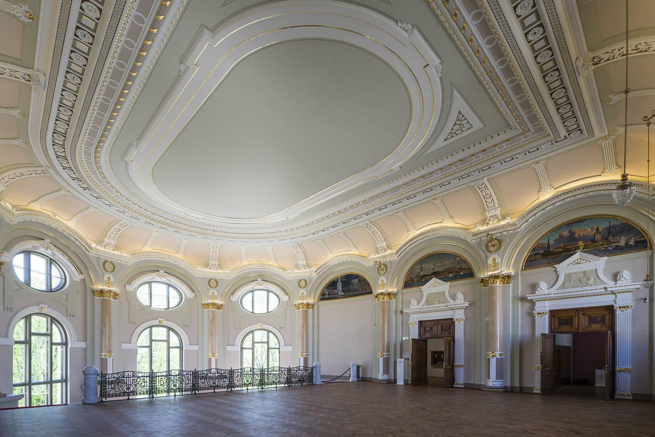 Linea Light per il Museo Nazionale delle Belle Arti di Riga