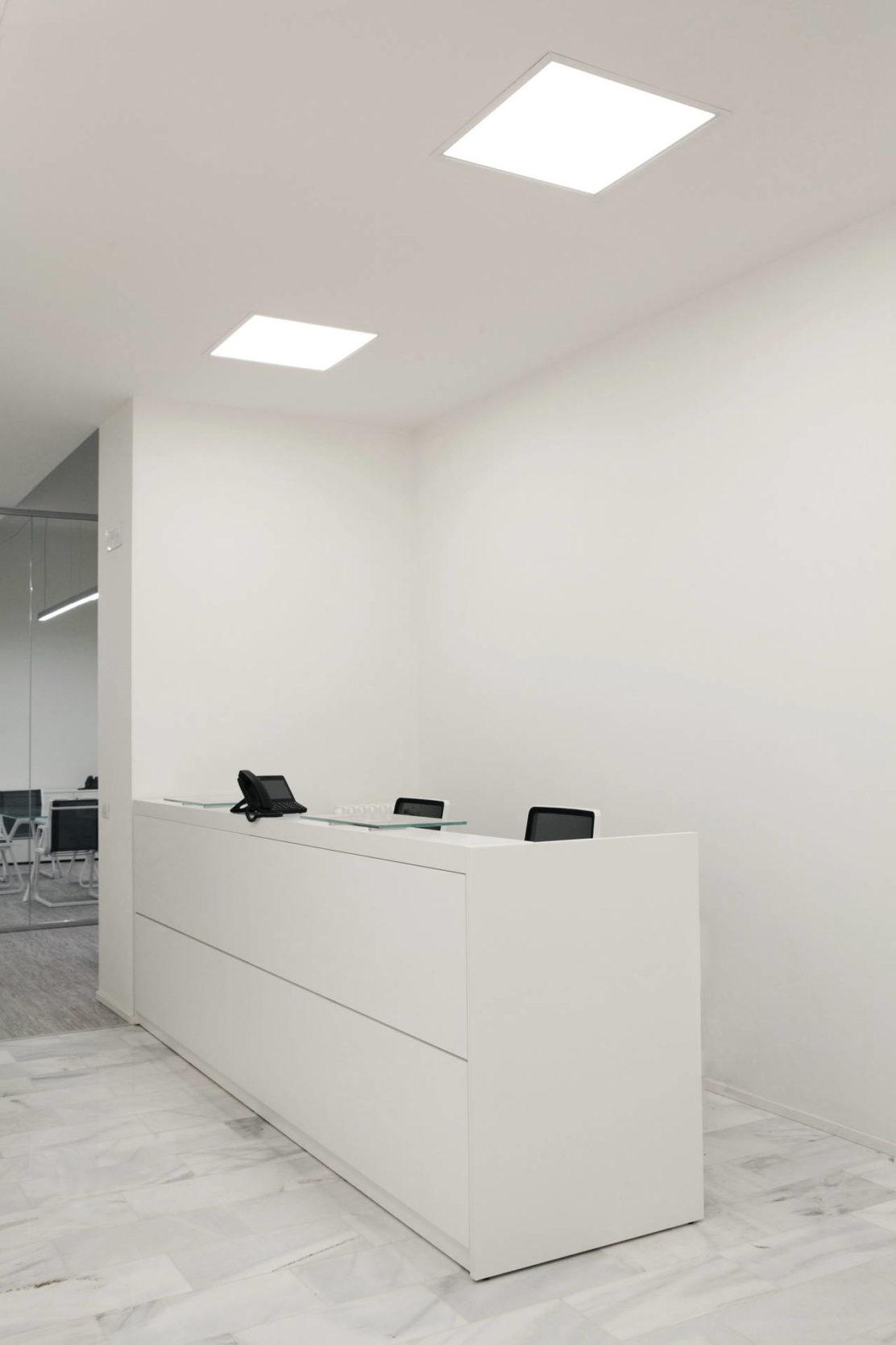 Rossini illuminazione per gli uffici della metro 4 di milano