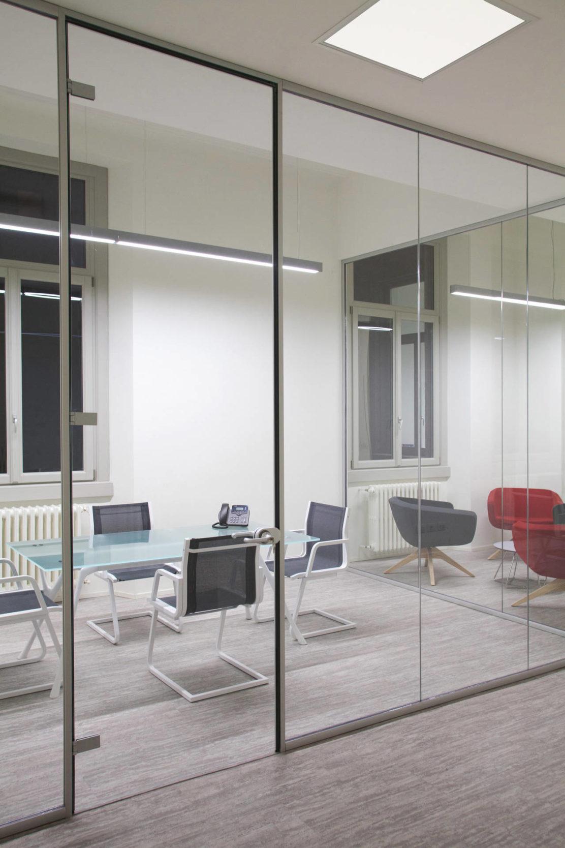 Rossini illuminazione per gli uffici della metro 4 di milano for Uffici attrezzati milano