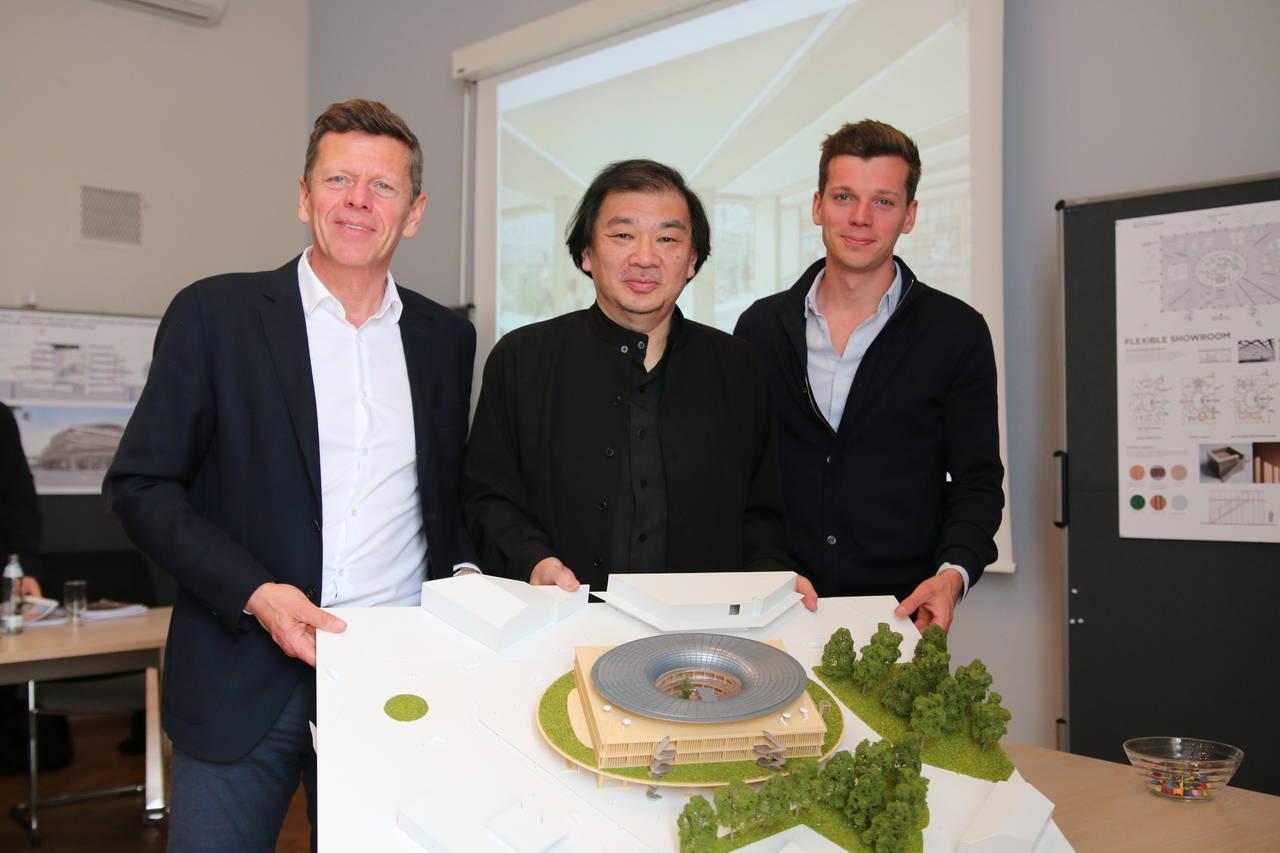 Shigeru Ban per la nuova sede di Team 7 in Austria