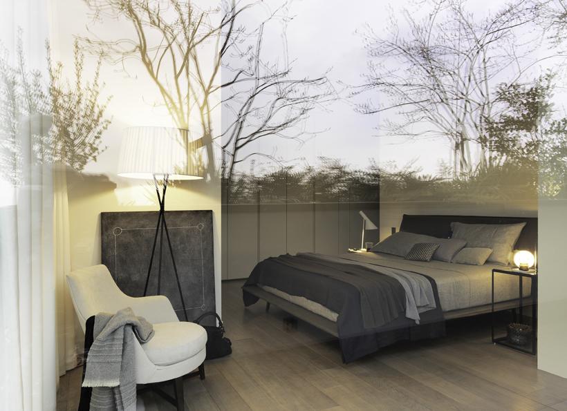 Letto Night&Day design Patricia Urquiola