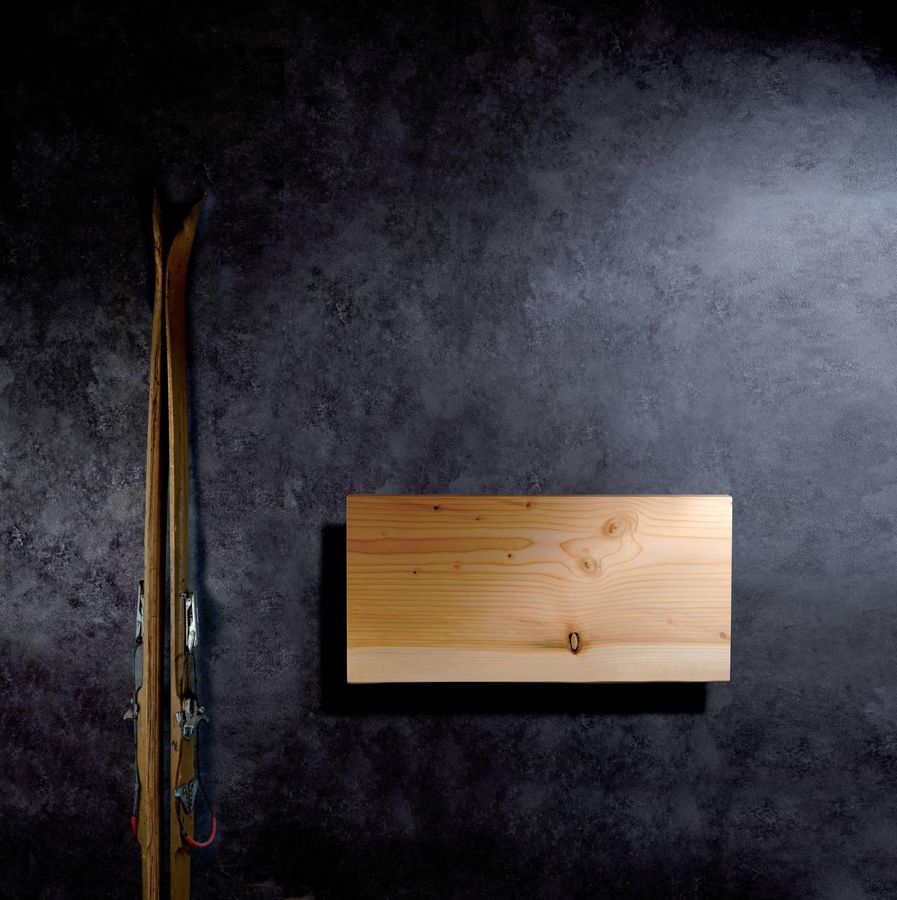 Xilo scaldasalviette in massello di cedro del Libano