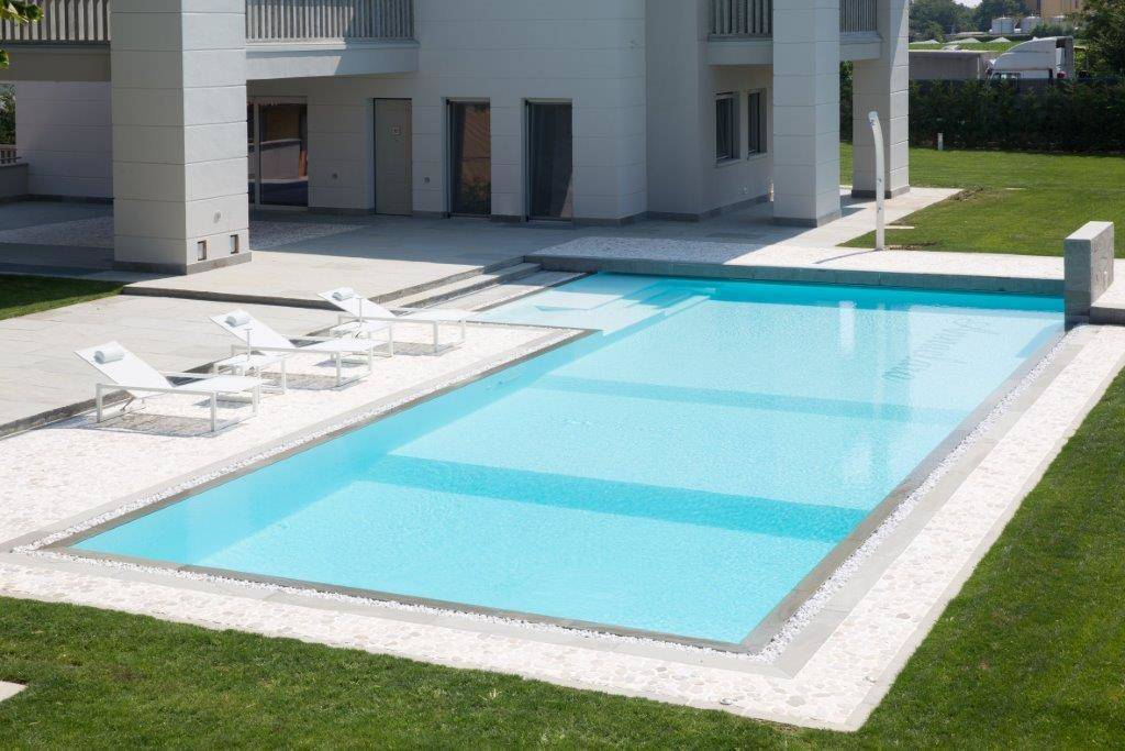 Piscine Castiglione per un'abitazione privata a Piacenza