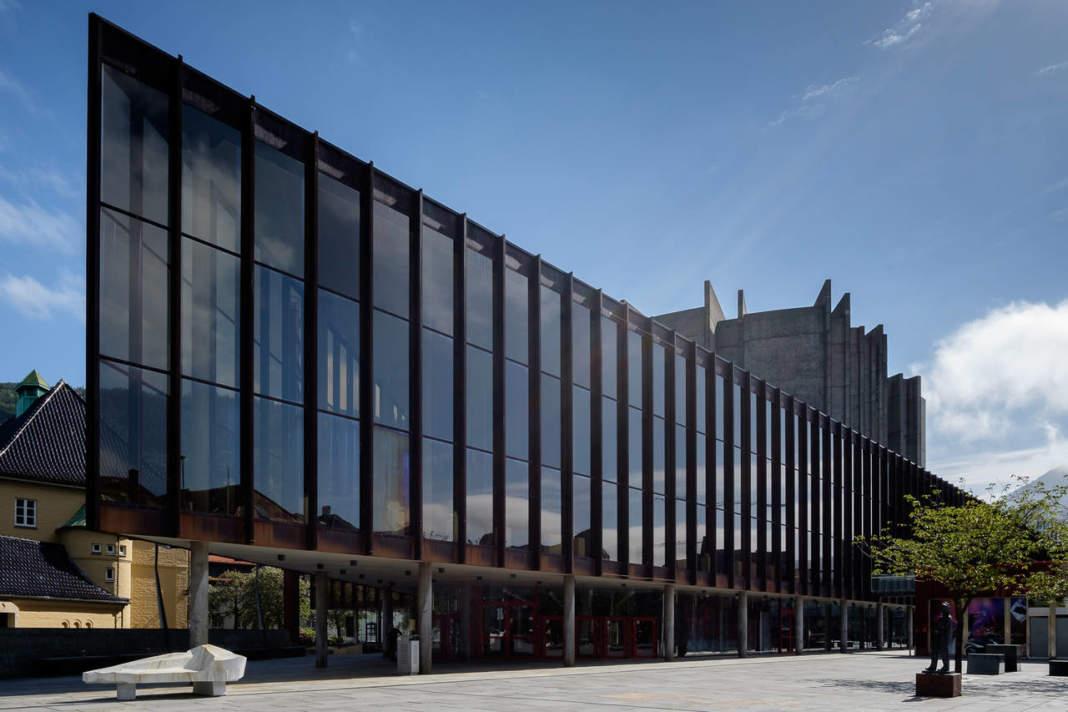 Grieghallen a Bergen (Norvegia)