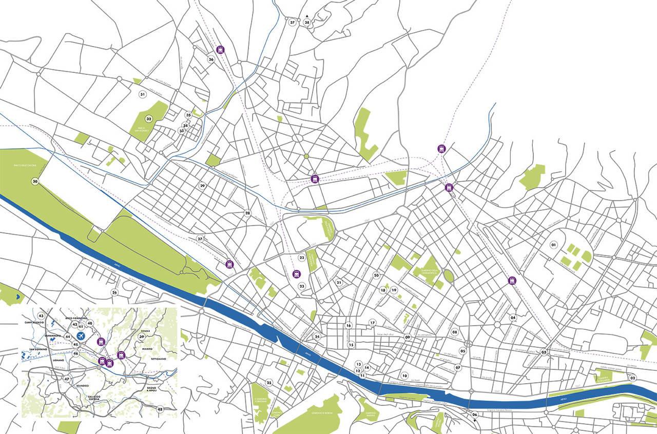 Mappa Firenze