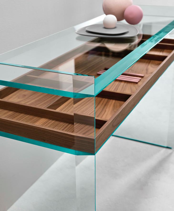 L 39 essenza del vetro quiller by tonelli area for La collezione di design del sater